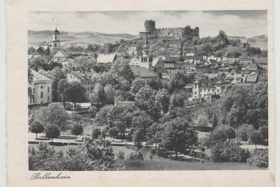 dolny śląsk na starej pocztówce